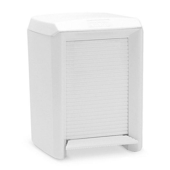 OLYMPIA pedálos fürdőszobai szemetes, fehér