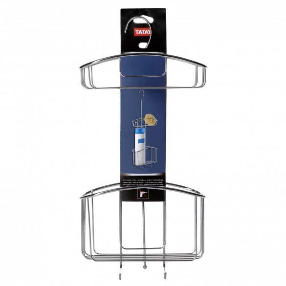 Dupla zuhanykosár, akasztóval