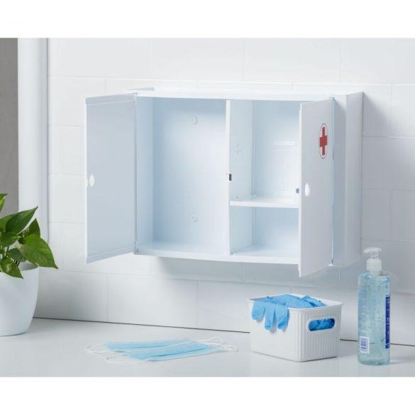 Fali gyógyszeres szekrény