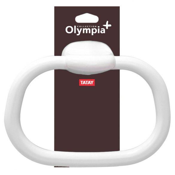 OLYMPIA törölközőgyűrű, fehér