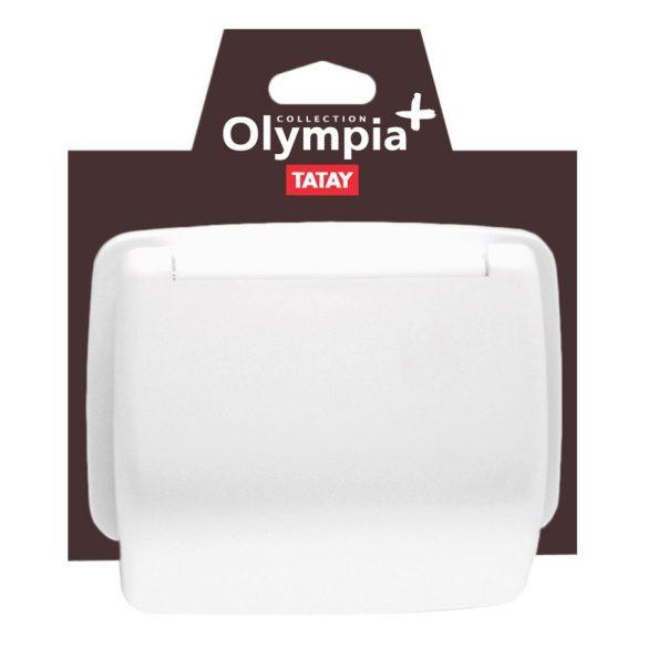 OLYMPIA fali WC-papír tartó, fehér