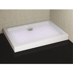 ERIS aszimmetrikus zuhanytálca fix előlappal