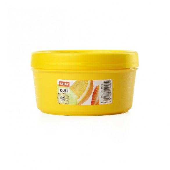 Frissentartó doboz gyümölcsökhöz, 0,5 liter