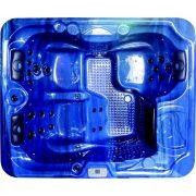 OASIS kültéri medence, kék