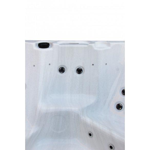 PALMA kültéri medence, gyöngyházfehér