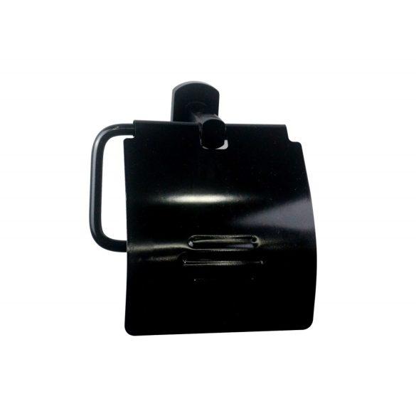 SOHO WC-papír tartó, fekete