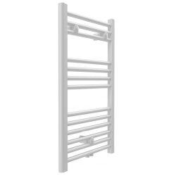 BARI fürdőszobai fűtőtest, egyenes, fehér, 386 W