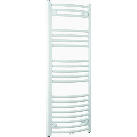BARI fürdőszobai fűtőtest, íves, fehér, 386 W