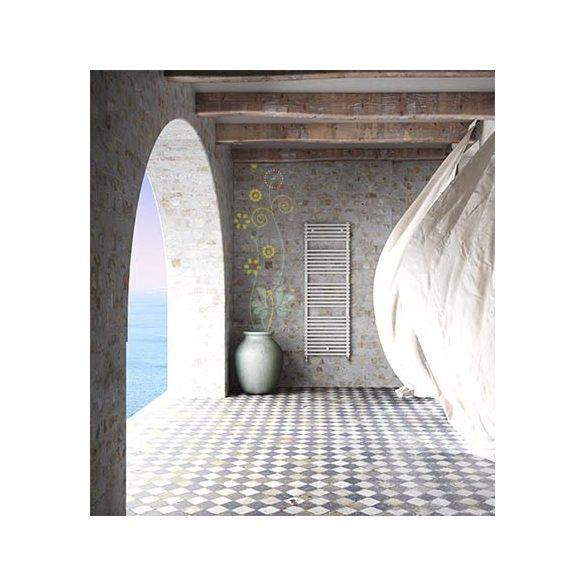CATANIA fürdőszobai fűtőtest, egyenes, fehér