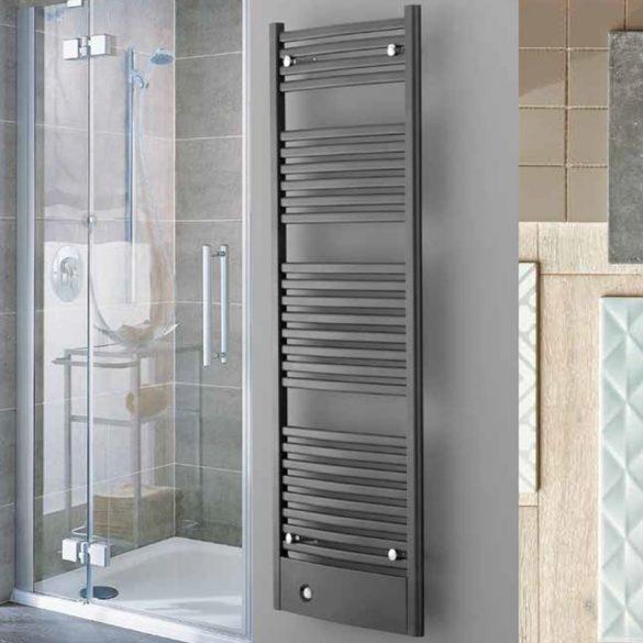FIRENZE fürdőszobai fűtőtest, egyenes, antracit, 909 W