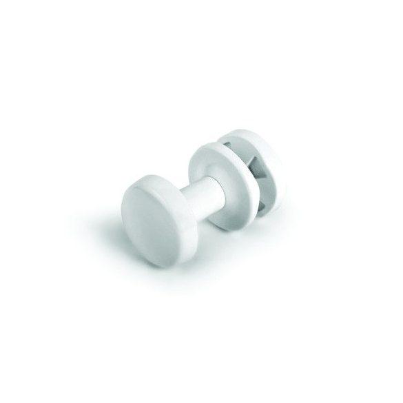Köntös akasztó fürdőszobai fűtőtestekhez, fehér