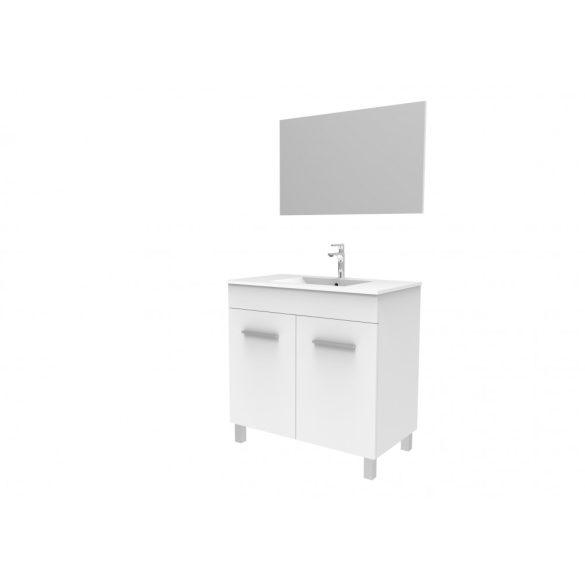 FRESH 80 komplett mosdóhely, fehér