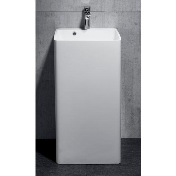 Álló mosdó, öntött márvány