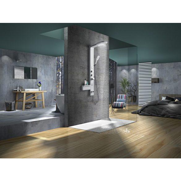 IBIZA zuhanypanel, ezüst