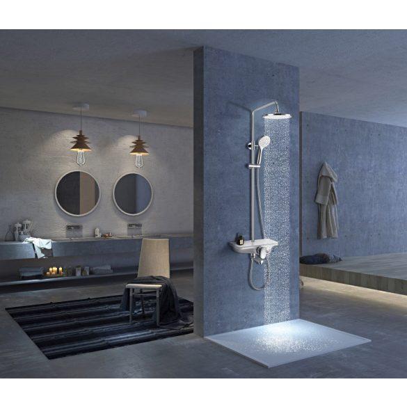 Zuhanyszett esőztető fejzuhannyal, kádtöltővel
