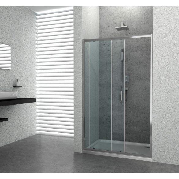 ELITE DELUXE tolóajtó épített zuhanyfülkéhez