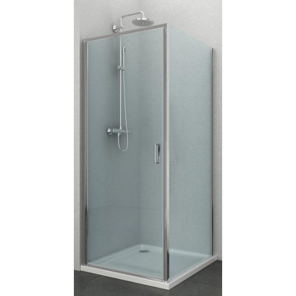 ELITE szögletes sarok zuhanykabin nyílóajtóval