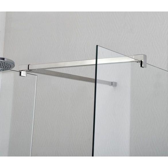 CLEOPATRA WALK-IN sarokkabin előfülkével (6 mm)