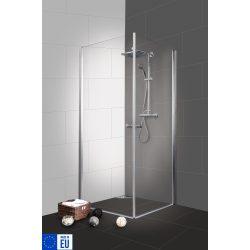 BRAVA I szögletes sarok zuhanykabin két lengőajtóval