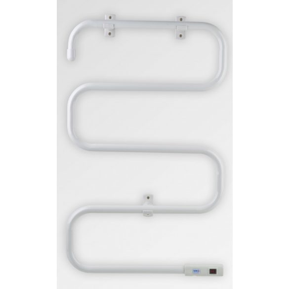 Elektromos törölközőszárító, fehér, 100W