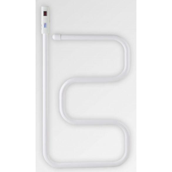 Elektromos törölközőszárító, fehér, 80W