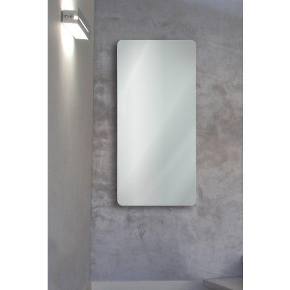 E-MIRROR fürdőszobai fűtőtest, fehér, 100 x 50 cm