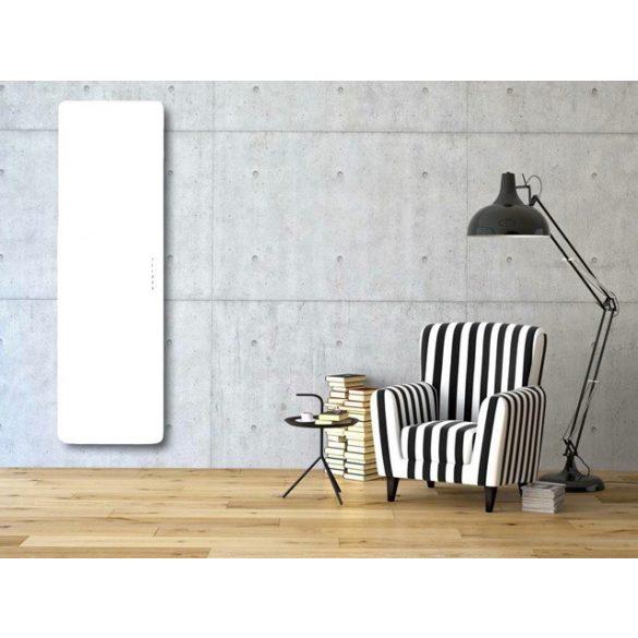 E-MIRROR fürdőszobai fűtőtest, fehér, 100×50 cm