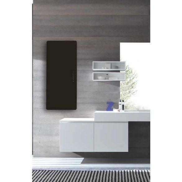 E-MIRROR fürdőszobai fűtőtest, antracit, 100×50 cm
