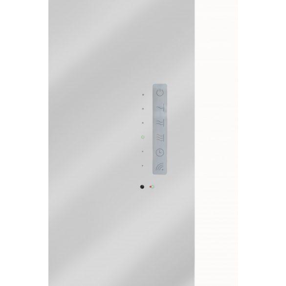 E-MIRROR tükrös fürdőszobai fűtőtest, 100 x 50 cm