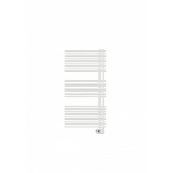 E-GARDA fürdőszobai fűtőtest, egyenes, fehér, 600W
