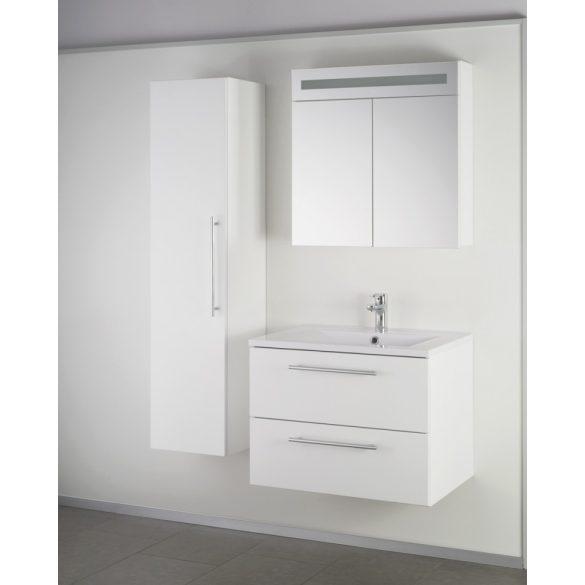 FIORA 70 függesztett mosdóhely, fehér, kerámiamosdóval