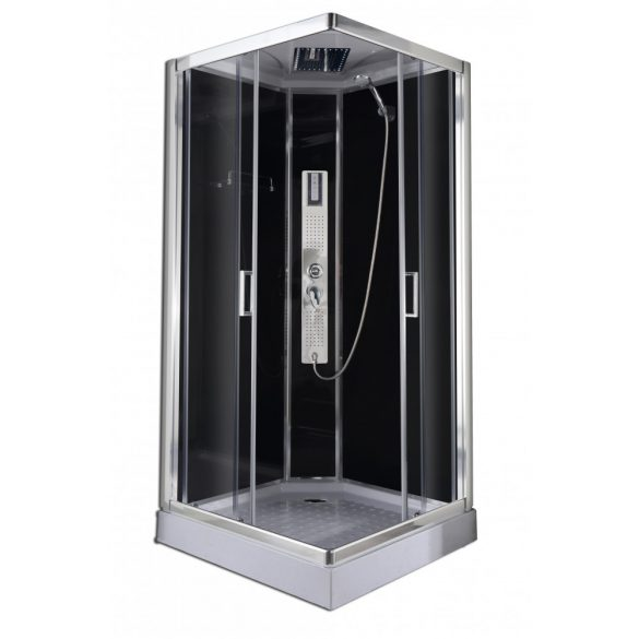 TREND hidromasszázs zuhanykabin, szögletes