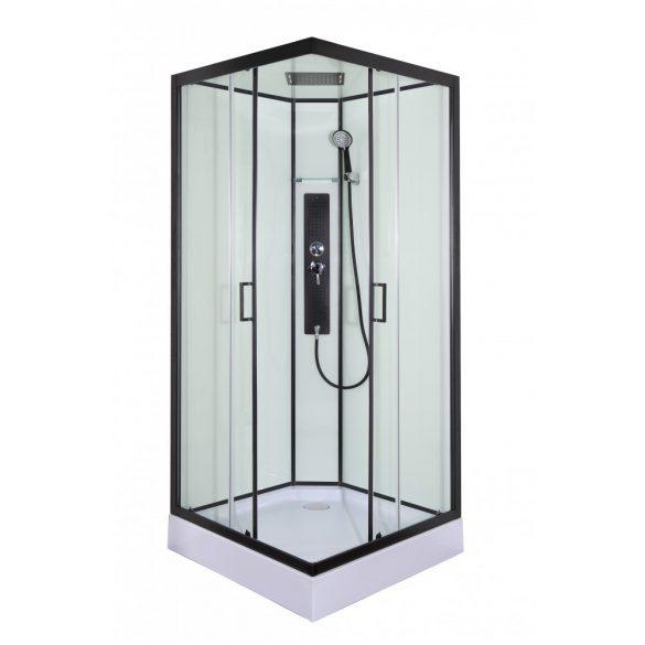 SKY hidromasszázs zuhanykabin, szögletes