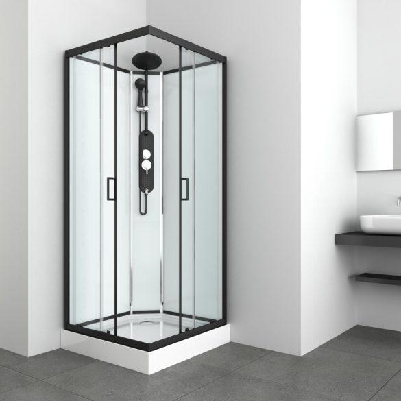 EPIC 2 hidromasszázs zuhanykabin, szögletes