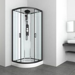 EPIC 1 hidromasszázs zuhanykabin, íves