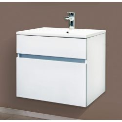 STELLA 60 függesztett mosdóhely, fehér, kerámiamosdóval