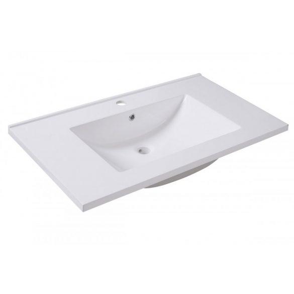 STELLA 80 függesztett mosdóhely, antracit, kerámiamosdóval