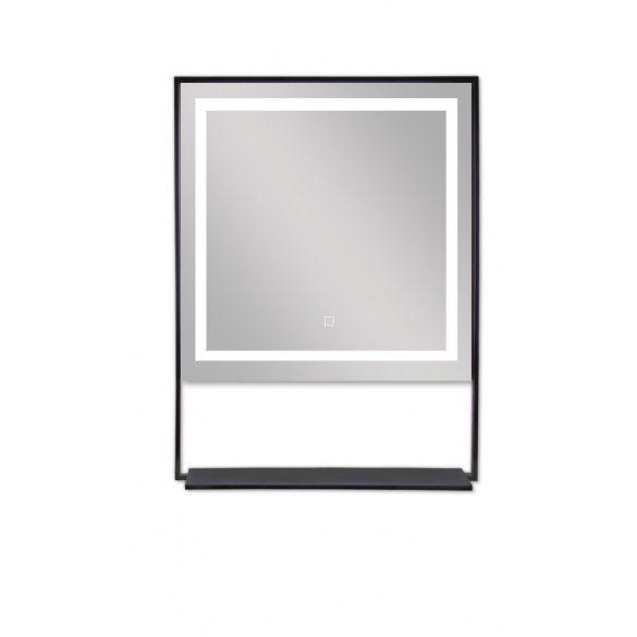 Tükör indirekt LED-es megvilágítással, érintőkapcsolóval, páramentesítő fűtéssel, Bluetooth-szal