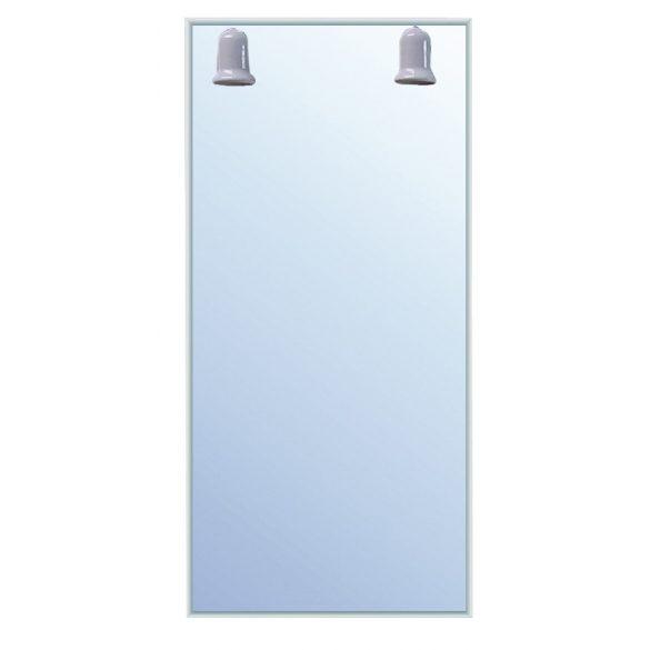 ALOE tükör LED-világítással, 50×90 cm