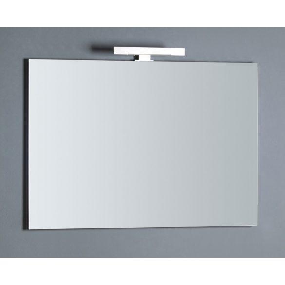 Tükör LED-világítással, 100×70 cm