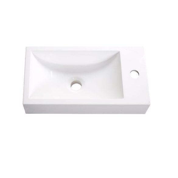 NORA 48 függesztett mosdóhely, ezüst tölgy