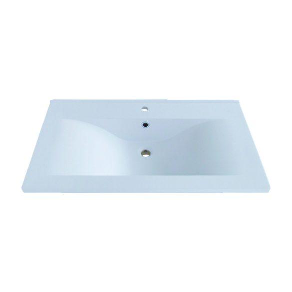RAVE 70 függesztett mosdóhely, kordoba, öntött márvány mosdóval