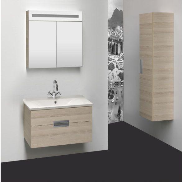 RAVE 90 függesztett mosdóhely, karmen, öntött márvány mosdóval