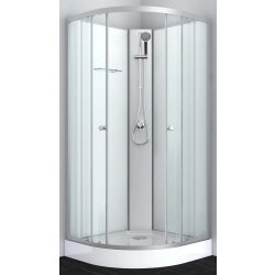 IDEA 1 komplett zuhanykabin, króm