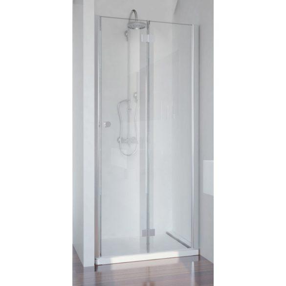 SMARTFLEX csukló zuhanyajtó, jobbos kivitel_