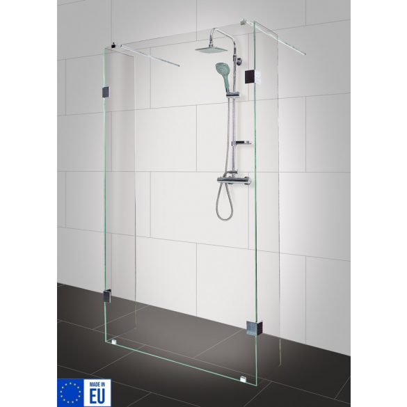 WIDE háromrészes zuhanyfal