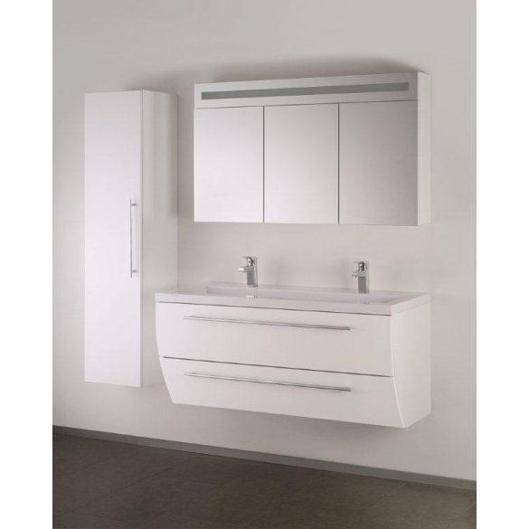 SWEET/FIORA kiegészítő fali szekrény, fehér