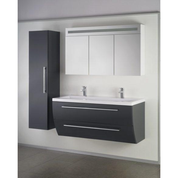 SWEET/FIORA kiegészítő fali szekrény, antracit
