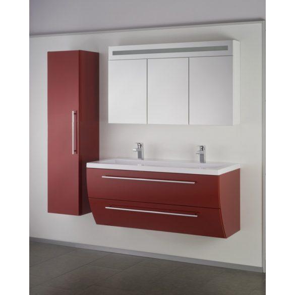 SWEET/FIORA kiegészítő fali szekrény, bordó