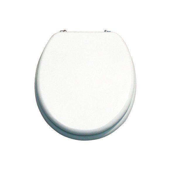 STAR WC-ülőke, fehér, lakkozott MDF